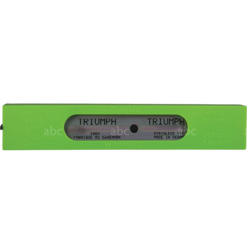 Triumph Stainless Steel Blades - 10 Blades per Pack
