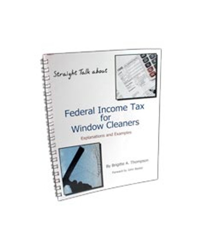 """Book """"Federal Income Tax for Window Cleaners"""""""