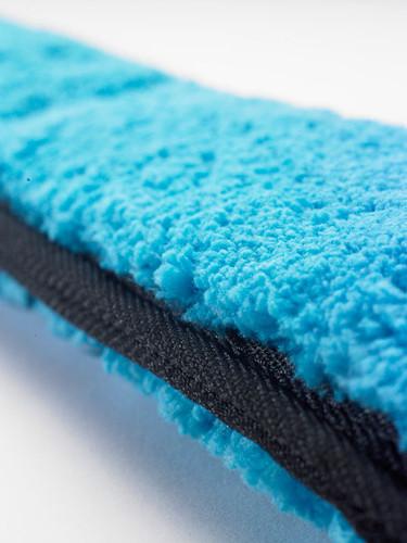 Moerman Premium Blue Microfiber Sleeve with double hook and loop fastener