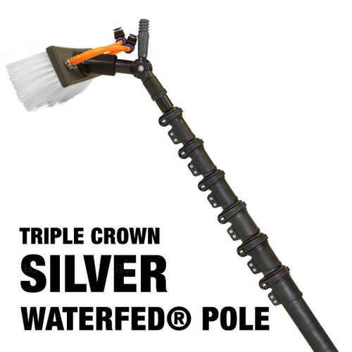 Triple Crown Silver WaterFed® Pole
