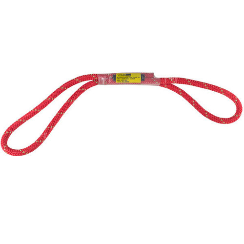 8mm az bound loop Pusik cord - Red - 16""