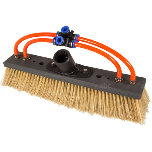 "Triple Crown 12"" Hog's Hair WaterFed® Brush with Fan and Pencil Jets"