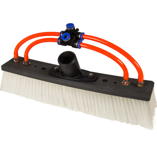 "Triple Crown 12"" Double Trim WaterFed® Brush with Fan and Pencil Jets"