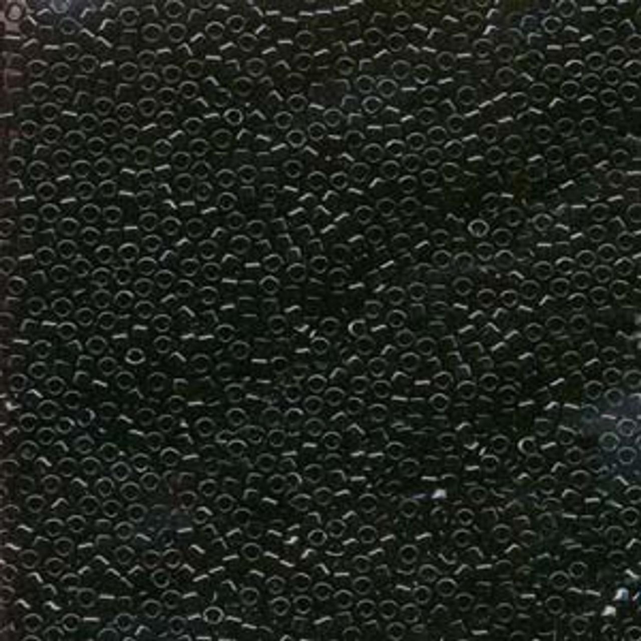 Black 11/0 Delica Beads db010 (8 Grams)