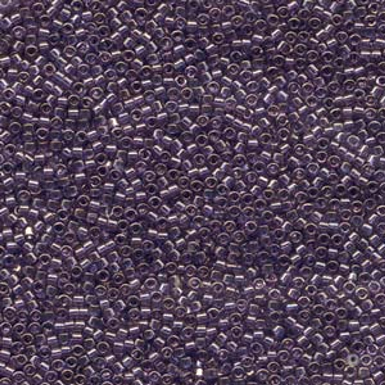 Lavender Blue Gold Luster 11/0 Delica Beads db117 (8 Grams)