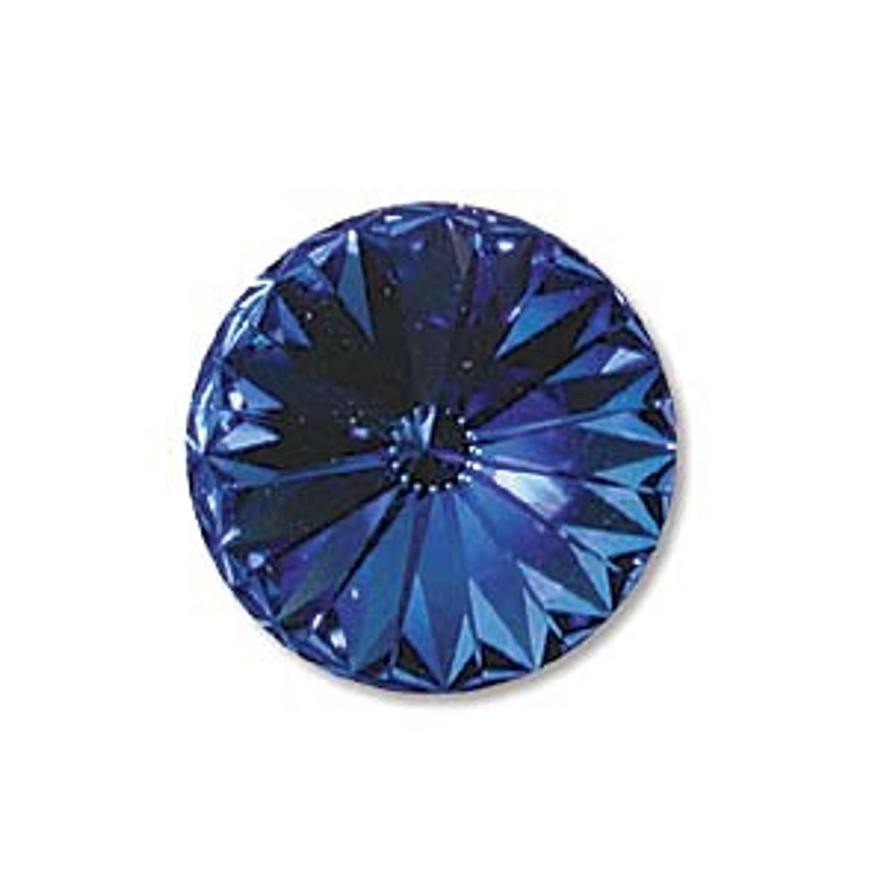 14mm Sapphire Rivoli