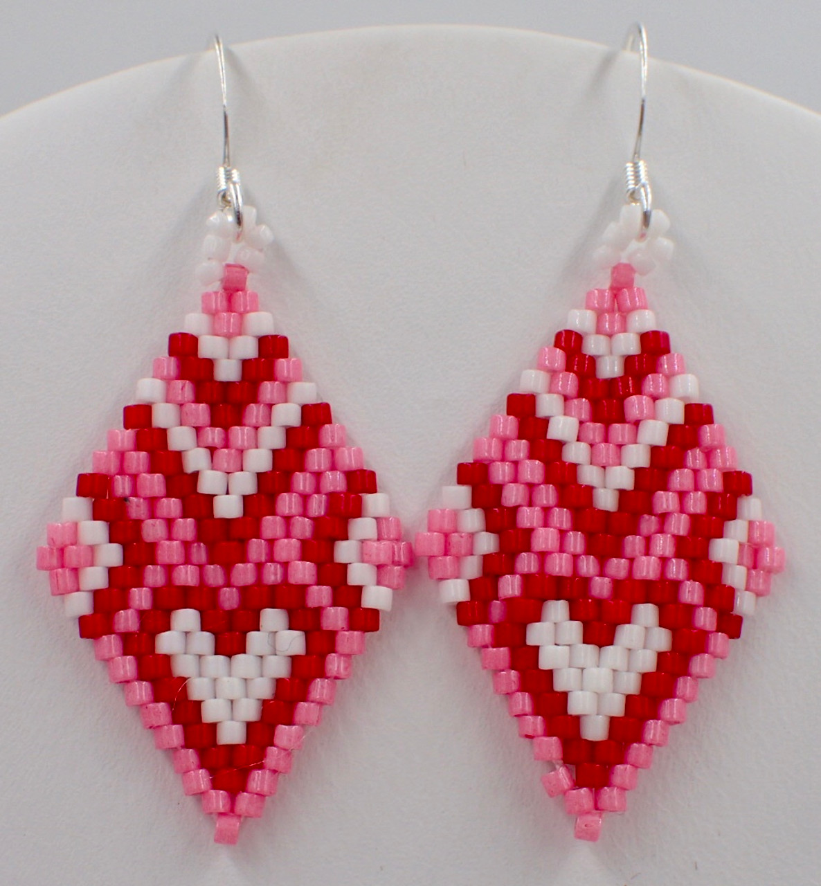 Heart of Diamond Earrings PRINTED Pattern