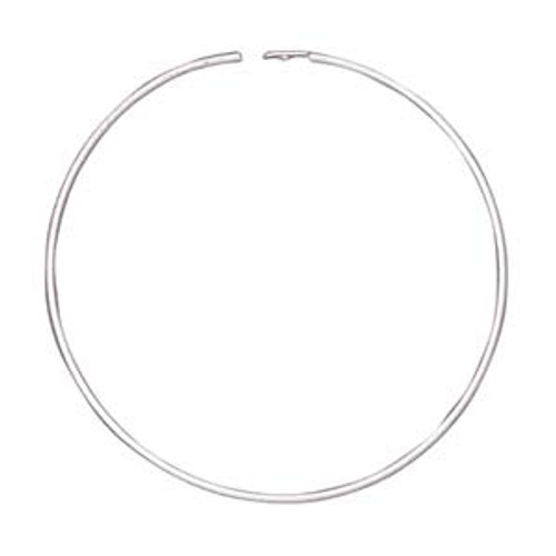 1.25mm Silver Plated Endless Hoops (3 Pairs)
