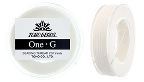 White One G Thread 250yd Spool