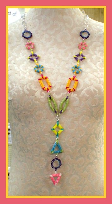 3D Shapes Necklace Kit