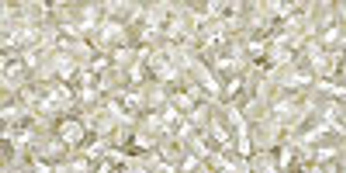 11/0 Silver Lined Crystal Seed Beads TOHO (22 Grams) 11-21