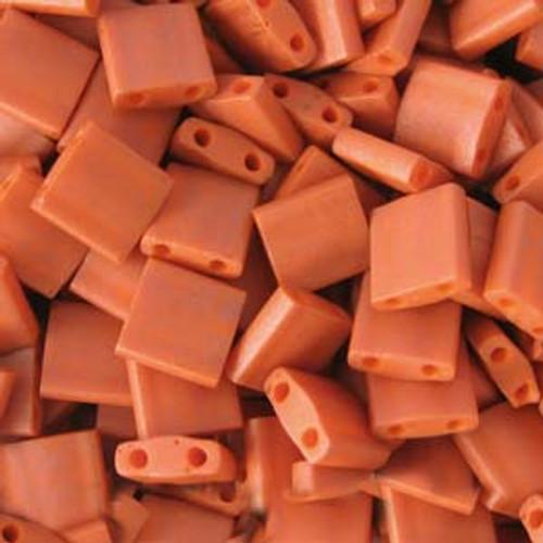 Burnt Sienna 5mm Tila Beads (TL2315)
