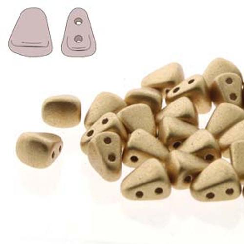 6x5mm Bronze Pale Gold Nib-Bit Beads (8 Grams)