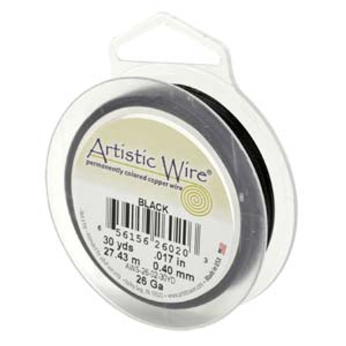 24ga Black Artistic Wire