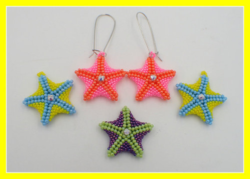Starfish Earrings Tutorial