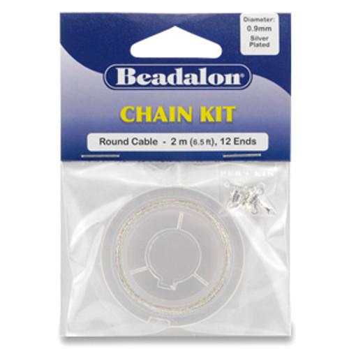 Round Cable Beadalon Chain Kit