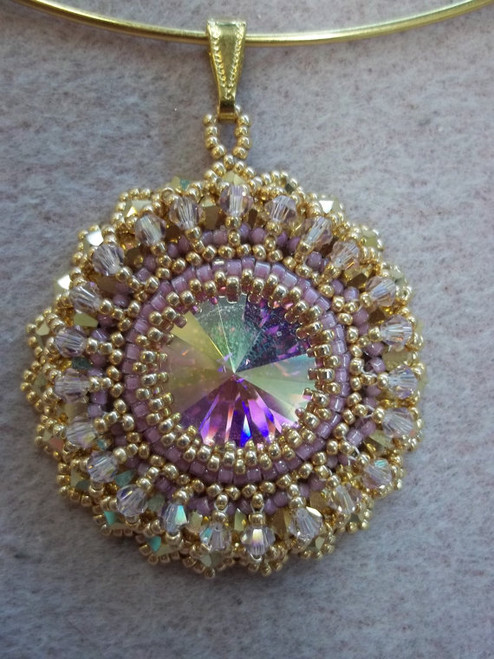 Luscious Blooms Pendant Tutorial