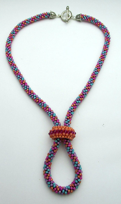 Convertible Kumihimo Necklace Tutorial