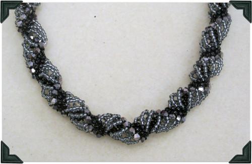 Dutch Spiral Necklace Tutorial
