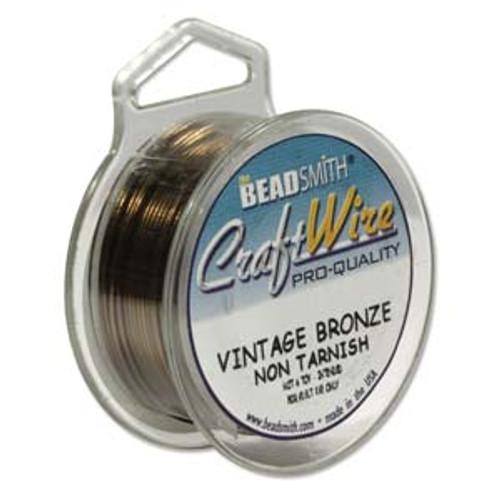 18ga Vintage Bronze Craft Wire