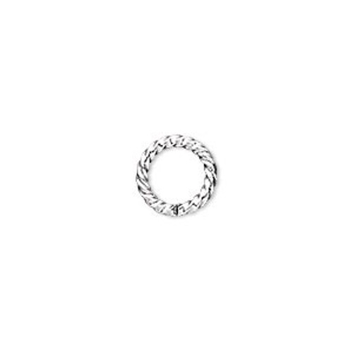 10mm 14ga Twisted SLP Jump Ring (20pk)