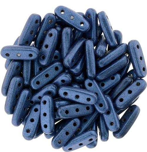 3 Hole Czechmate Beam metallic Suede Blue