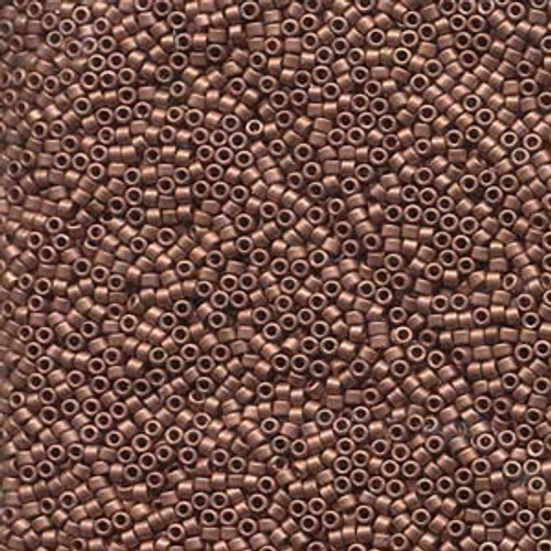 11/0 Matte Copper Delica (DB340) (8 Grams)