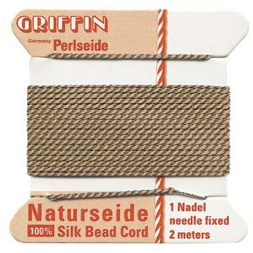 Number 8 Beige Griffin Silk Cord