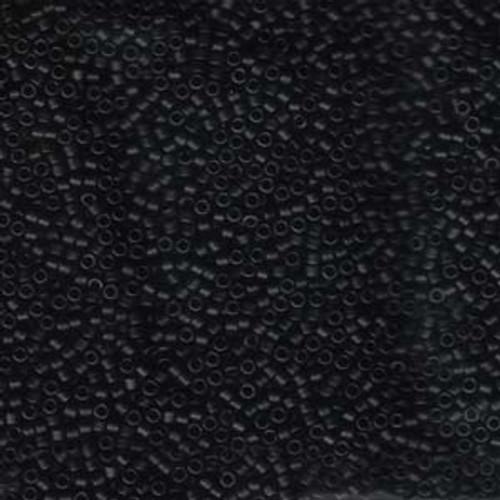 Matte Black 11/0 Delica Beads db310 (8 Grams)