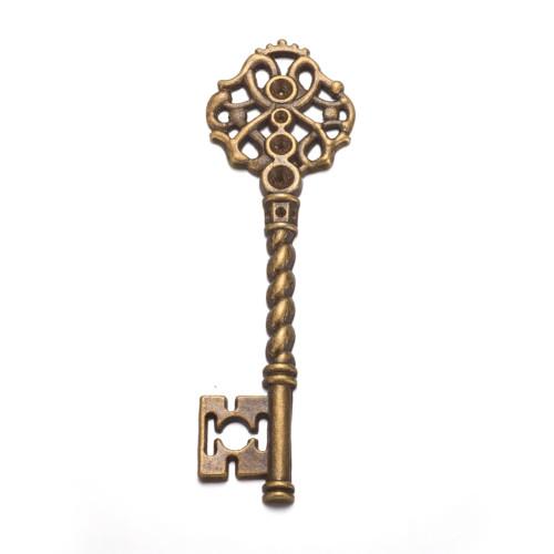 68x20.5x3mm Tibetan Style Key - (AGP) - 1 Key