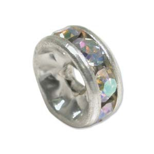6pk 5mm Crystal AB Roundelle