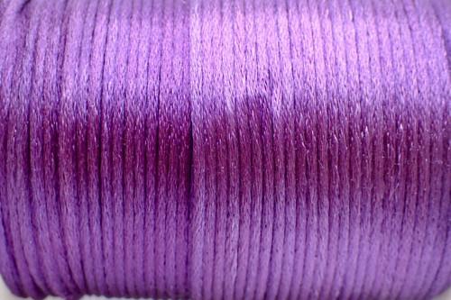 1.5mm Violet Rayon Rattail Cord - Per Yard