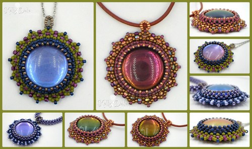 Reflecting Pool Pendant INSTANT DOWNLOAD PDF Pattern