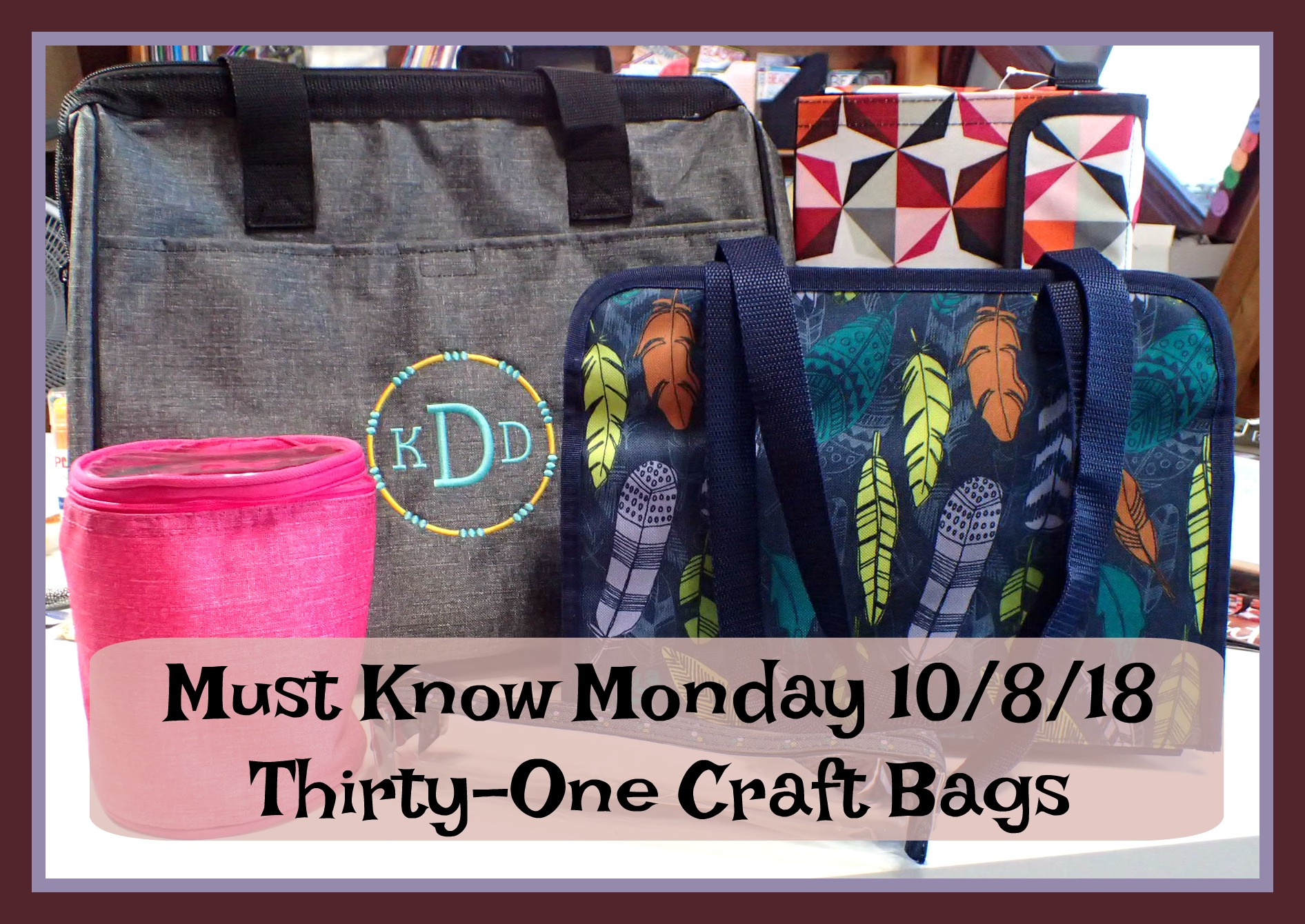 New Craft Bags from Thirty One
