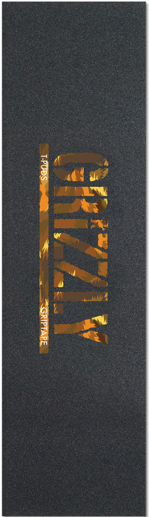 Grizzly Pudwill Stamp Wildlife Griptape Sheet