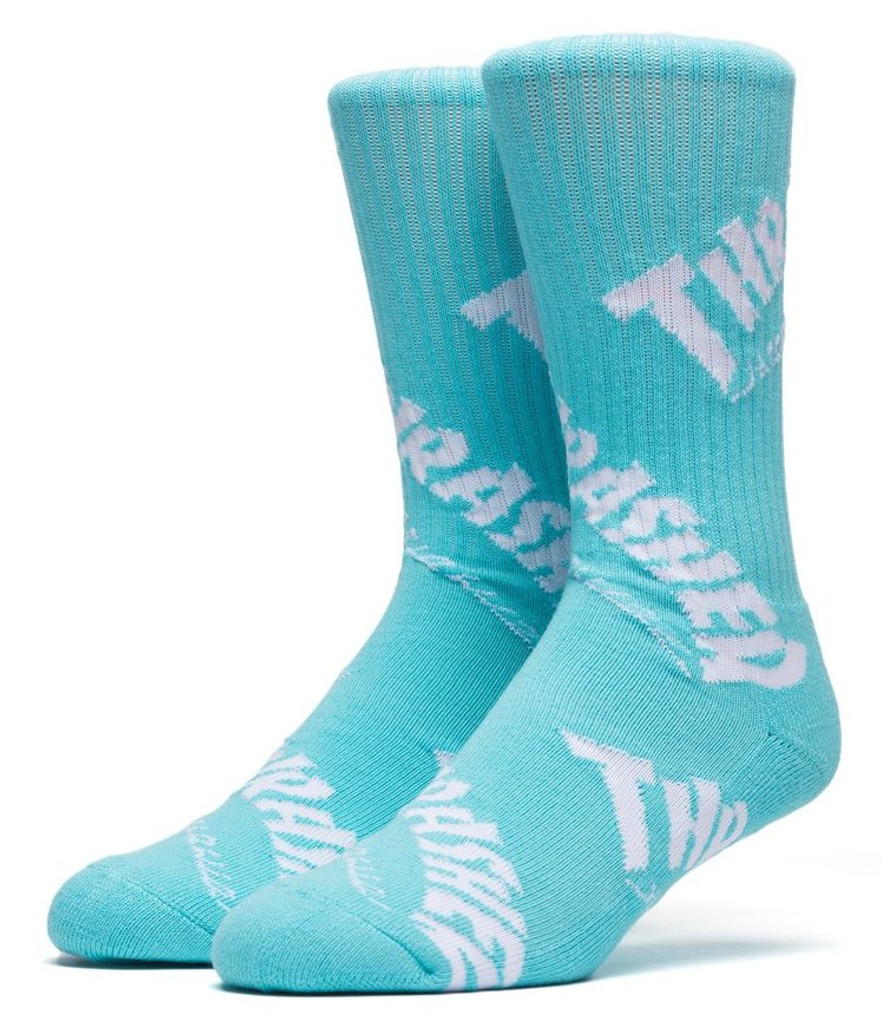 Huf Thrasher TDS Crew Socks - Mint