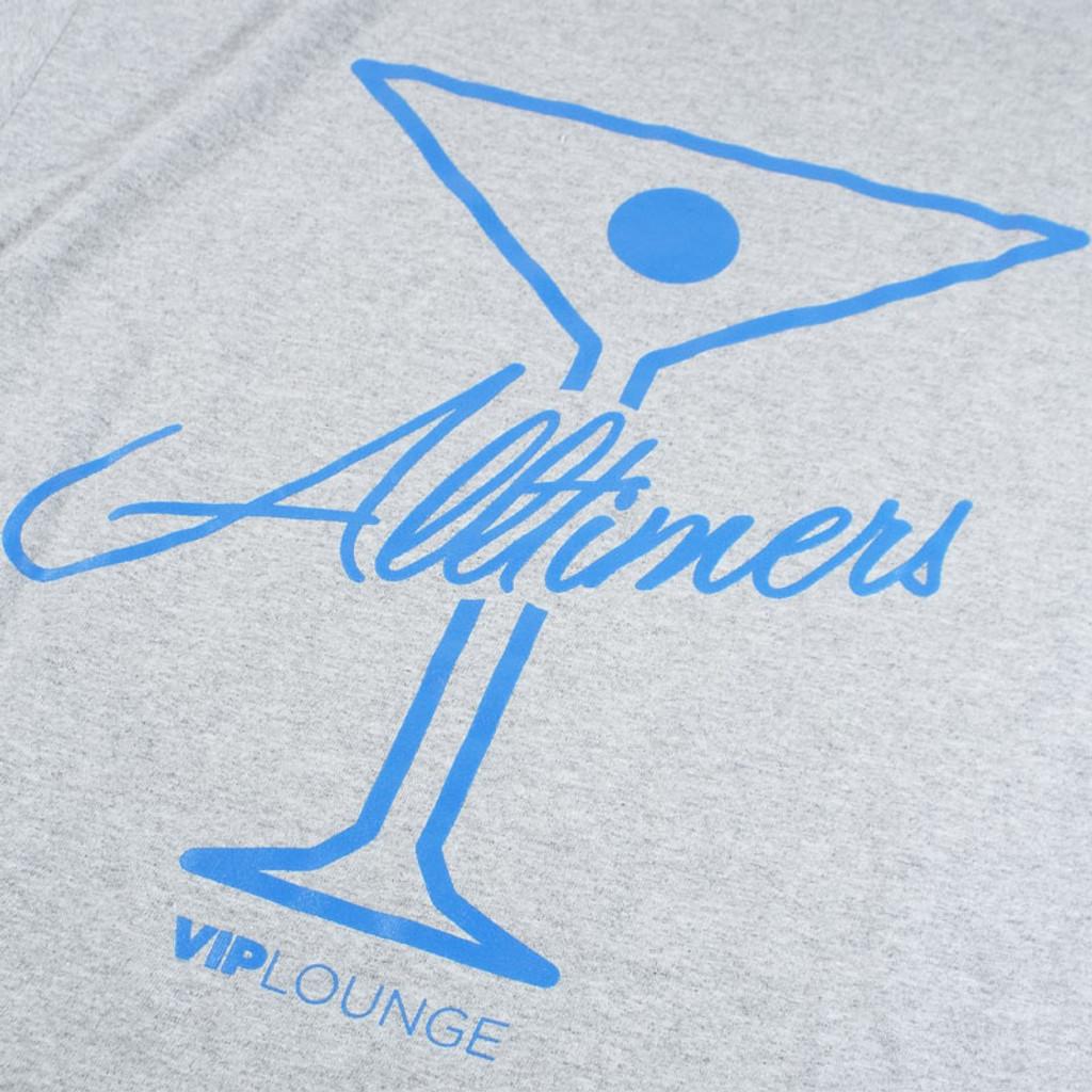 Alltimers Logo T-Shirt - Grey/Blue