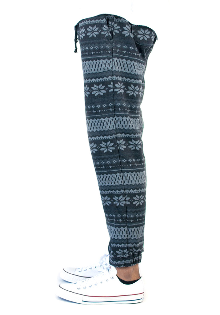 Kennedy Fleece Boarder Jogger - Dreamcatcher Black