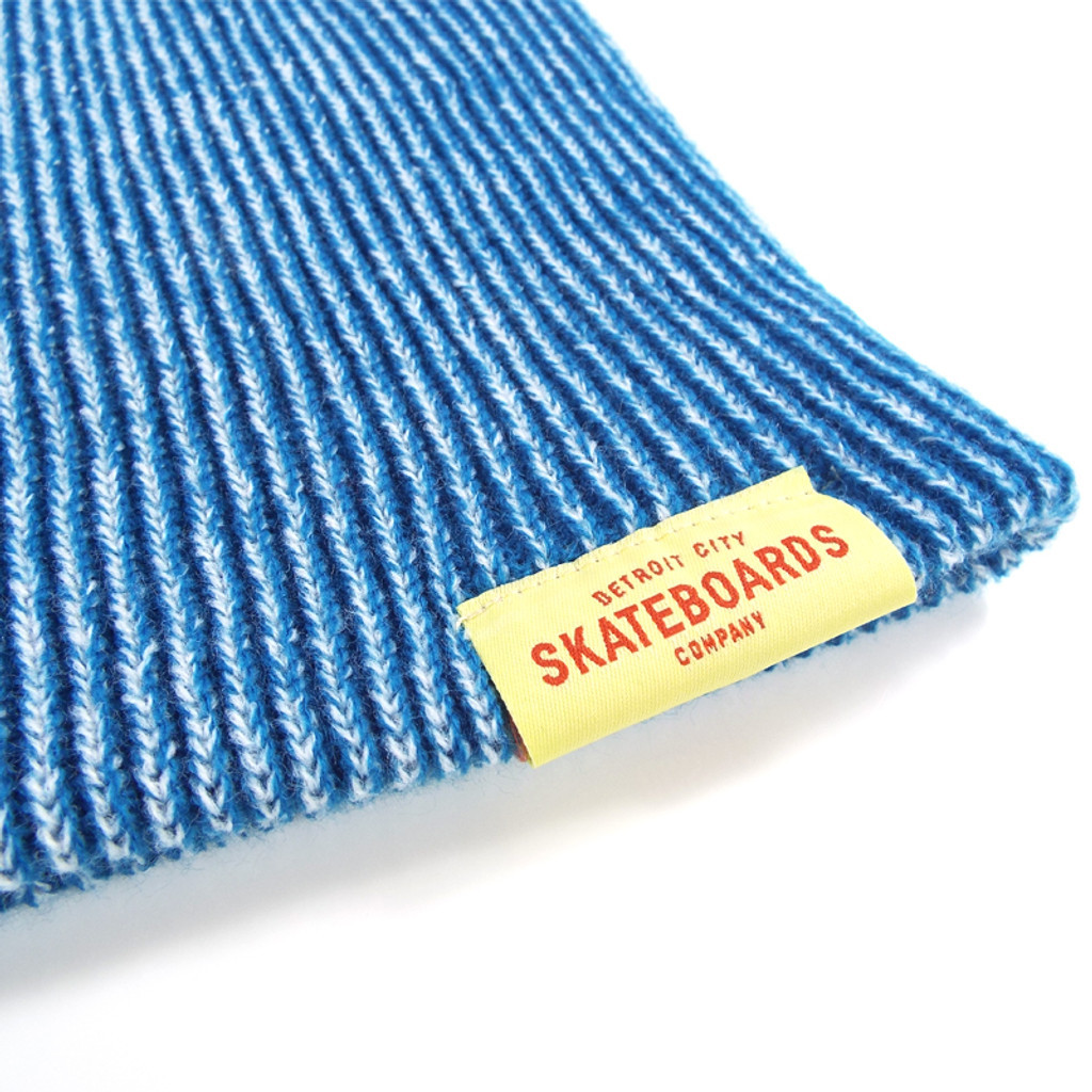 DCS Dockwear Cuffed Ribbed Beanie - Electric Blue