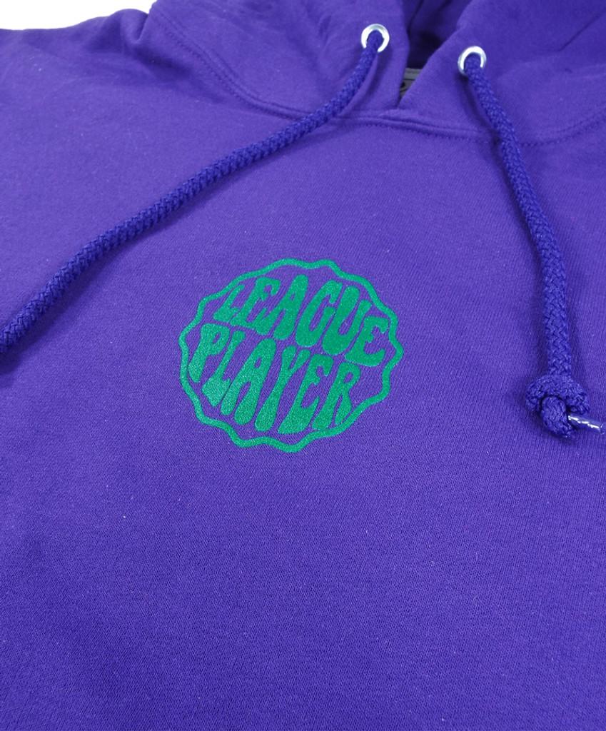 Alltimers Hacker Hooded Sweatshirt - Purple