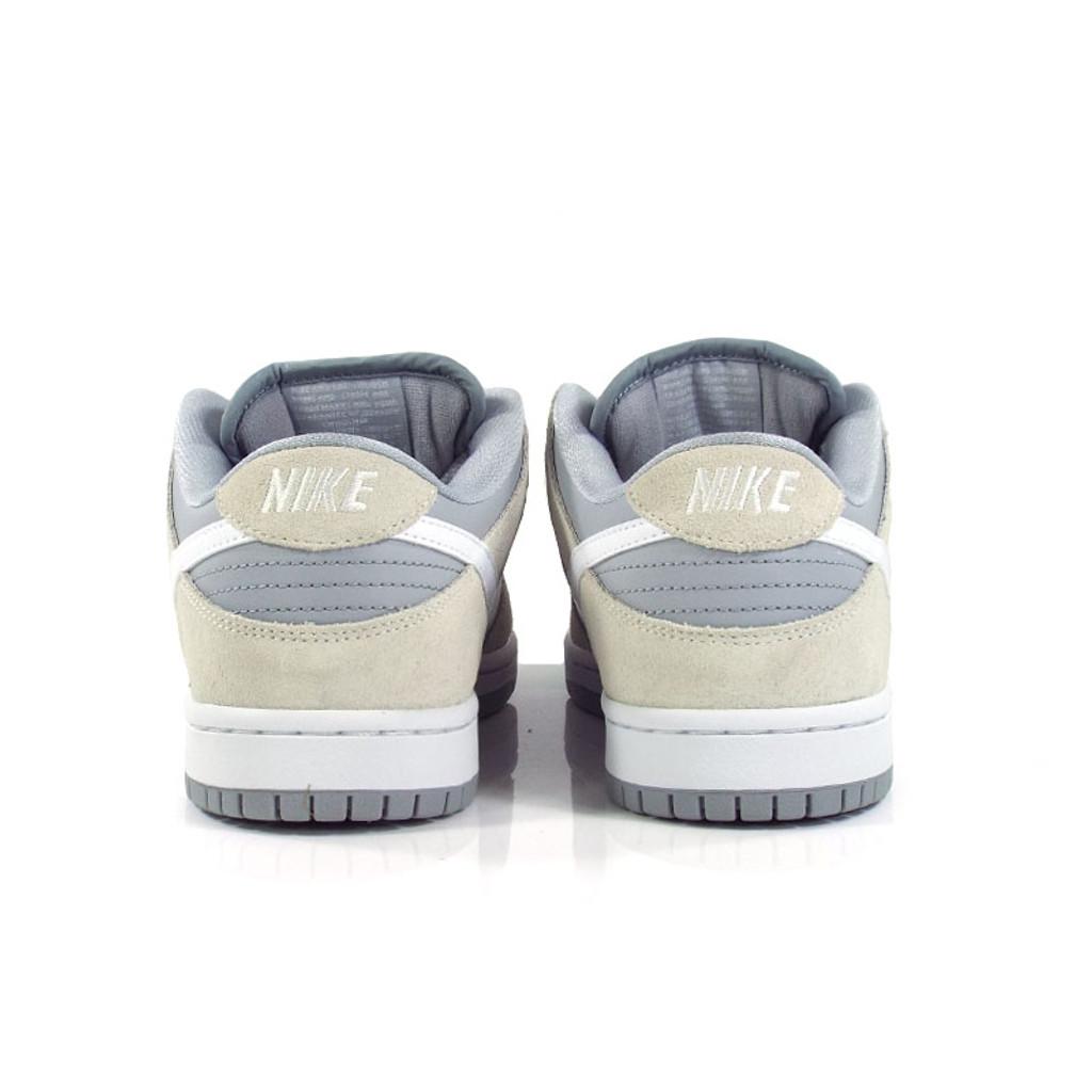 Nike SB Dunk Low TRD Shoes - Summit White/White-Wolf-Grey-White