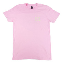 DCS New Raccoon Logo T-Shirt - Charity Pink