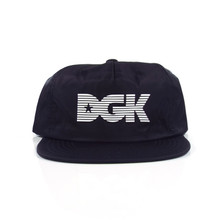 DGK Hampton Strapback Hat - Black