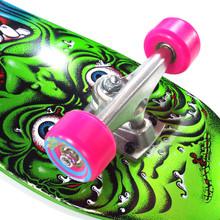 """Santa Cruz Mini Roskopp Face 80's Skateboard Complete - 8.25"""" x 26"""""""