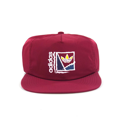 Adidas Court Crusher Strapback Hat - Burgundy
