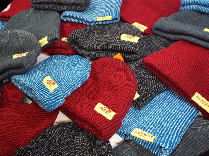 DCS/co. Dockwear Cuffed Ribbed Beanies available now.