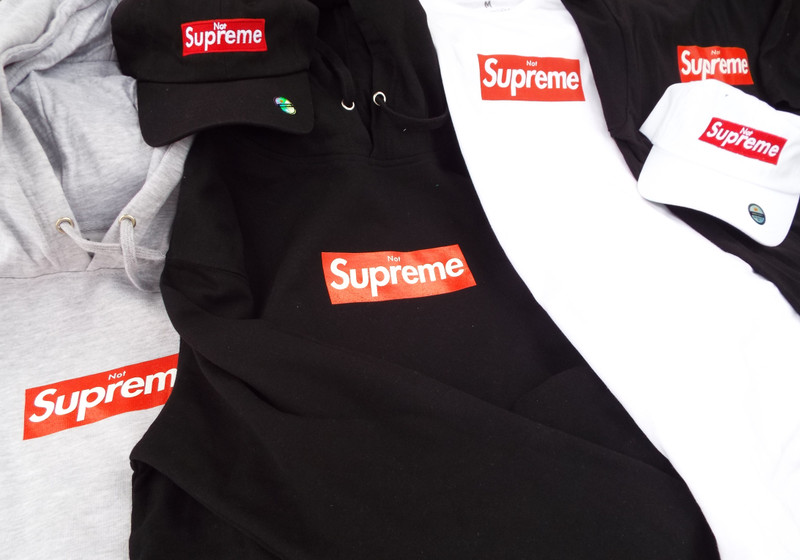 Not'Preme softgoods from Demand L.A. in-stock.