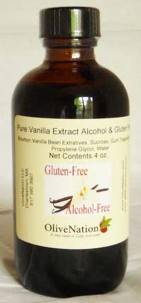 Vanilla Extract Alcohol & Gluten Free