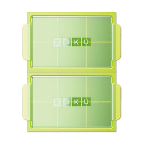 Zoku® Jumbo Ice Tray in Green (Set of 2)