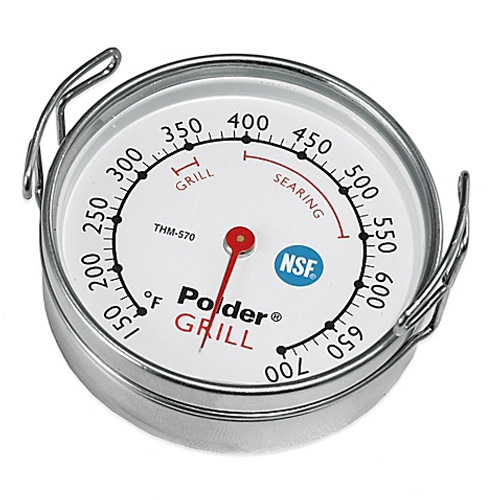 Polder® Grill Surface Cooking Thermometer